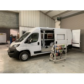 Now under conversion and available for sale, Iris 6.0 front lounge based on a new and unregistered Fiat Ducato 140BHP, please call for further details.